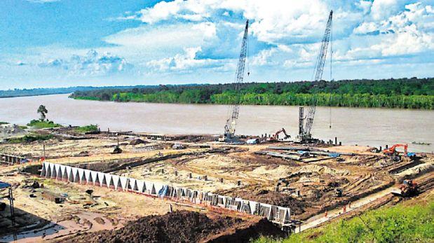 El concesionario del puerto de Yurimaguas prevé invertir US$66 millones en las dos etapas por desarrollar. (Foto: Copam)