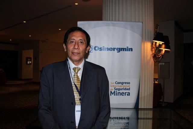 Ing. Víctor Carlos Estrella, Gerente de Fiscalizaicón minera de Osinergmin. (Foto: ProActivo)