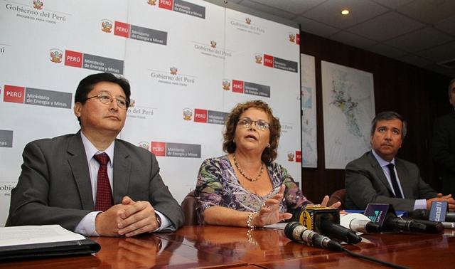 La titular del MEM señaló que mesa de desarrollo en Arequipa busca despejar dudas respecto a proyecto Tía María