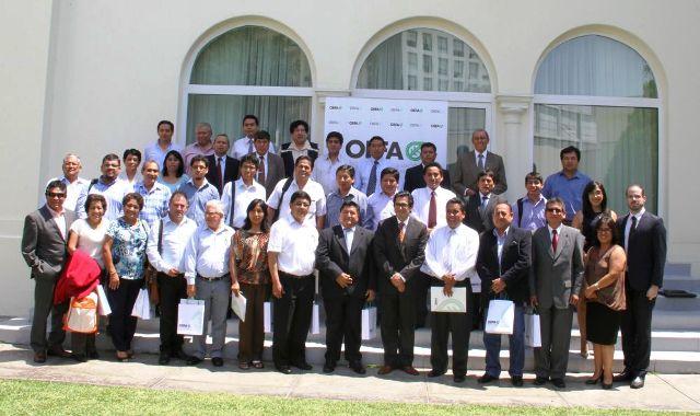 El OEFA reúne representantes de los 24 gobiernos regionales para fortalecer la fiscalización ambiental en el Perú.
