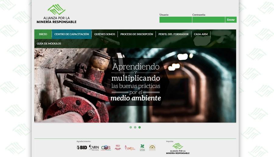 Plataforma virtual_(c) Alianza por la Mineria Responsable