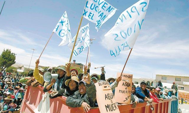 Paro. Pobladores marcharán pacíficamente el 27 de marzo.(Foto: La República)