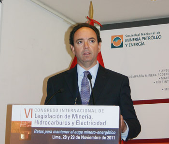 Juan Luis Kruger, gerente general de Gold Field