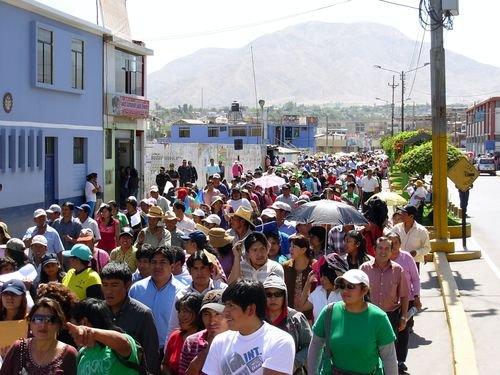 Nueva presidenta del Frente de Defensa de Moquegua Patricia Maldonado observó proyectos mineros. (Foto: Correo)
