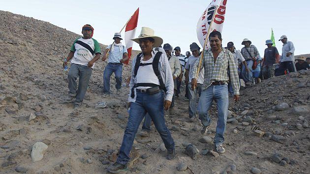 Alcaldes y dirigentes insisten en salida de proyecto minero tia maria