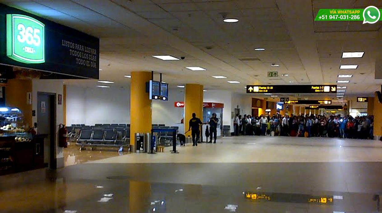 Amenaza de bomba causó alarma en aeropuerto de Lima
