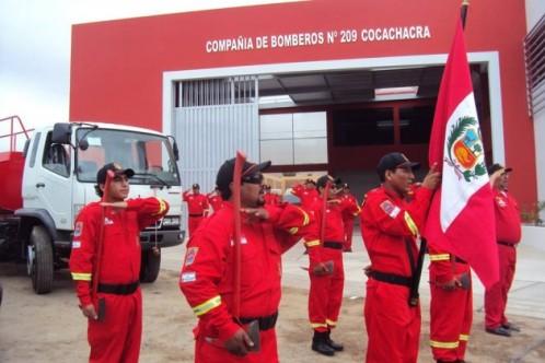 Atacan y saquean sede de los bomberos en Cocachacra 2