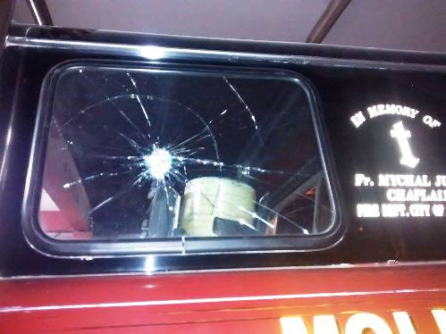 Atacan y saquean sede de los bomberos en Cocachacra 4