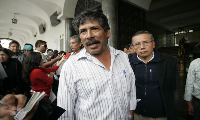 Dirigente Jesús Cornejo