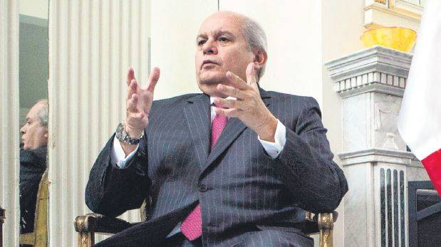 """Pedro Cateriano. (Foto: """"El Universal"""" / GDA)"""
