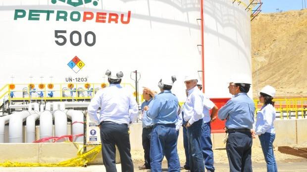 Presidente del directorio de Petroperú constata avance de obras del Proyecto Modernización de Refinería Talara