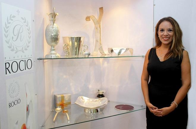 Rocío Mantilla, gerente general de Platería Rocío