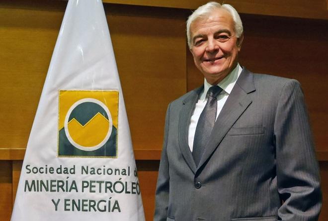 Carlos Galvez Pinillos, presidente de la SNMPE.
