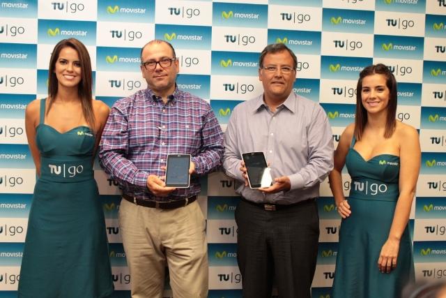 Sergio Almallo y Juan Zegarra en Demostracion de TU Go