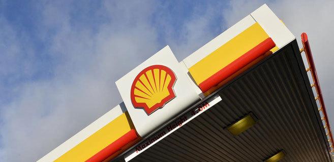 Estación de servicio de Shell en Londres. REUTERS