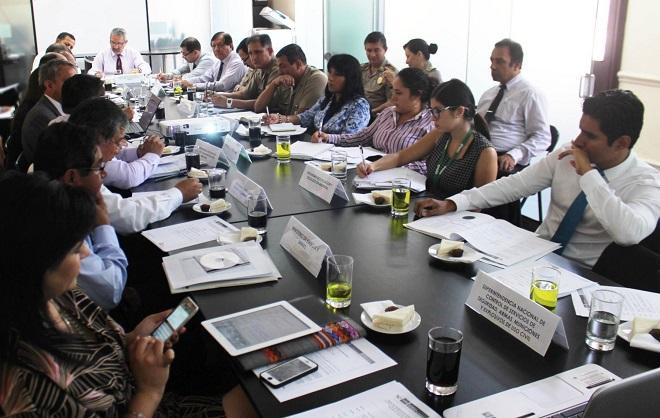 mesa de trabajo perú-bolivia