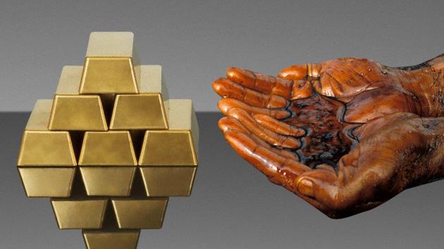 petroleo oro