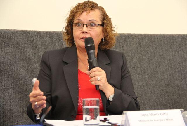 Ministra de Energía y Minas, Rosa María Ortiz. (Foto: Minem).
