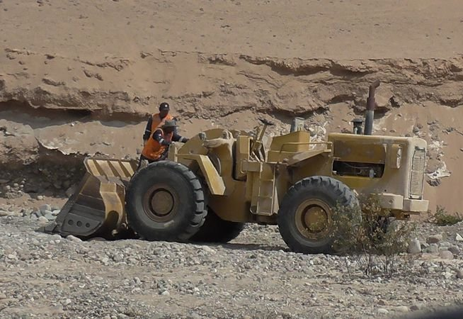 Identifican nuevo punto de minería ilegal y tráfico de maquinarias. (Foto: Correo)