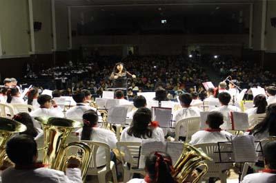 130 niños que participan en Sinfonía por el Perú – Núcleo Yanacocha,