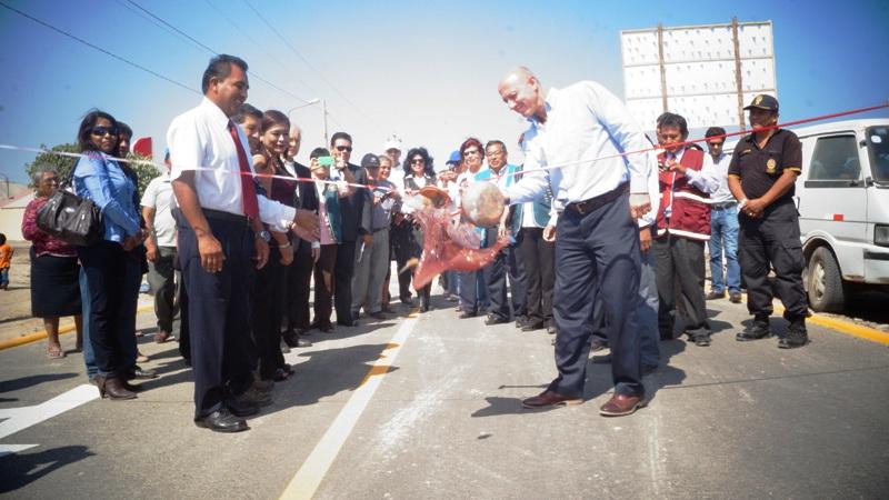 BCP y Municipalidad de Mariscal Cáceres entregan obra de infraestructura vial en centro poblado de Camaná