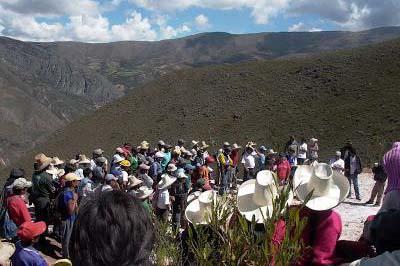 Conflictos en Condebamba