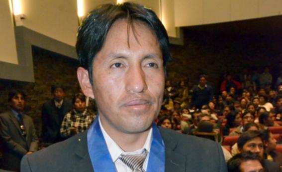 Consejero regional de la provincia de Carabaya, Hernán Vilca Soncco (Foto: Pachamama Radio)