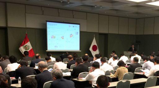 Más de 80 inversionistas japoneses mostraron interés por proyectos de inversión en Perú