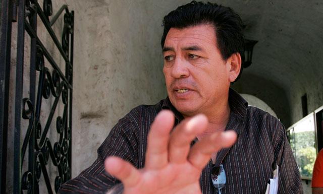 Pepe Julio Gutiérrez renunciará a Tierra y Libertad. Foto: Manuel Berríos/ La República.