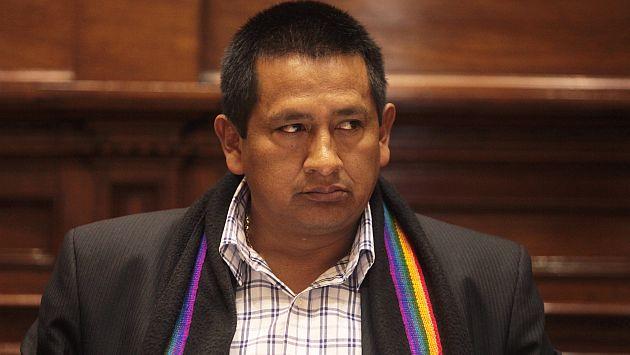 Congresista Walter Acha (Foto: Perú 21)