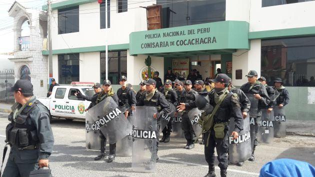 Detenidos son acusados de causar violencia en las protestas y cobrar cupos a los transportistas y transeúntes. (Miguel Idme)