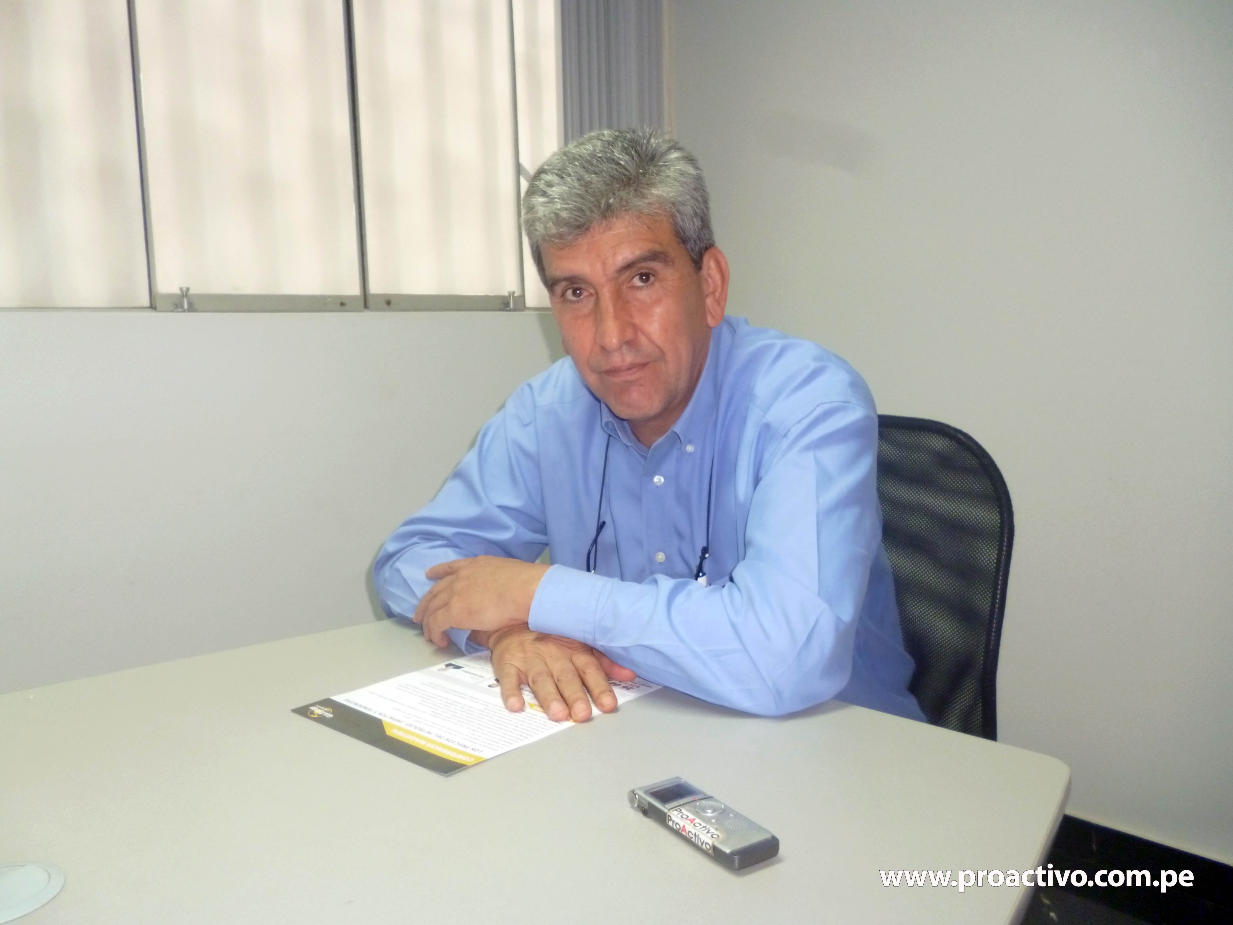 Álvaro Ríos. Foto: ProActivo