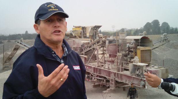 Augusto-Soto-comisionado para la formalizacion de la mineria