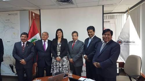 Coordinan construcción de ramales regionales del Gasoducto Sur Peruano