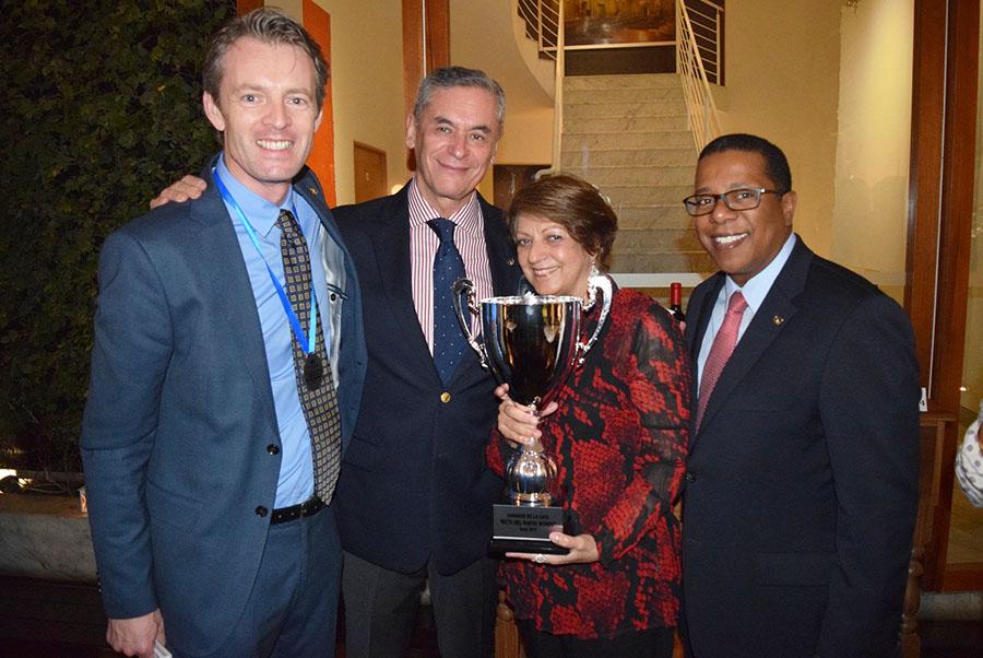 Embajada de Australia organiza exitoso concurso de Vinos del Nuevo Mundo