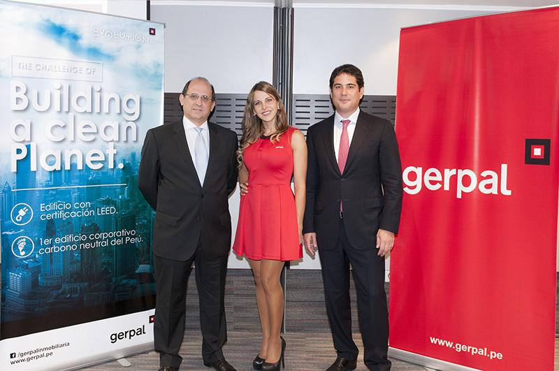 Gustavo Rizo Patrón Tori - Director Ejecutivo de GERPAL, y Sandro Trosso Toranzo - Gerente General de GERPAL 2