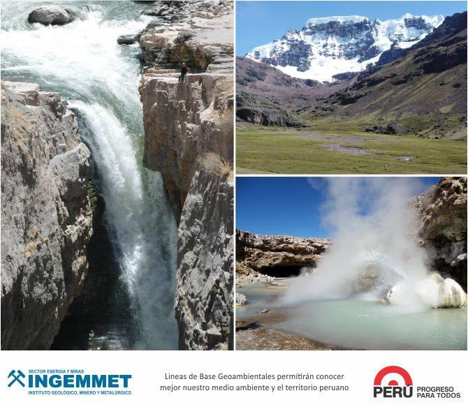 INGEMMET - Linea de base geoambientales
