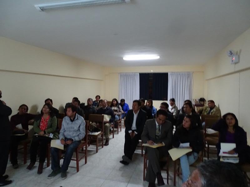 INGEMMET capacita periodistas en Huaraz