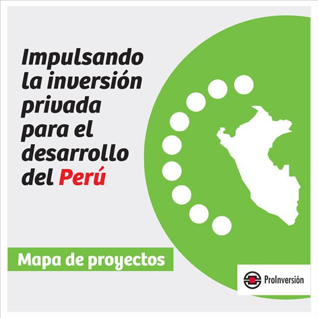 PROINVERSION Mapa de proyectos