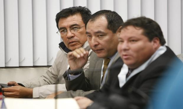 Espera. Dirigente de Tambo espera hoy la decisión del juez superior Víctor Zúñiga, quien determinará si lo liberan o no. (Foto: La República)