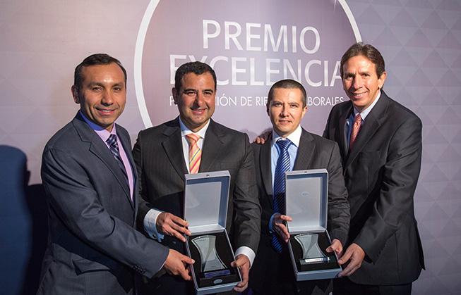 Seguros Rímac premia a Cosapi y a un colaborador por sus buenas prácticas en seguridad laboral