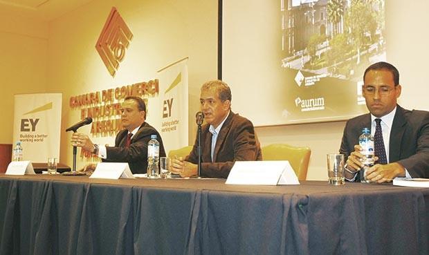 Presentación. Sector empresarial presentó guía de negocios (Foto: la República)