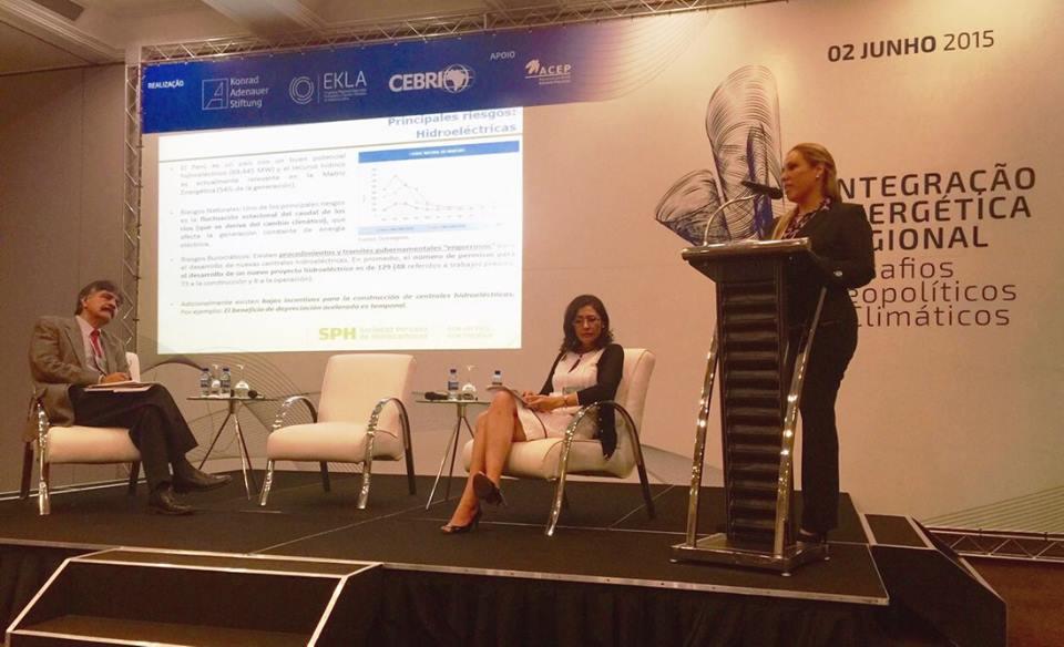 Sociedad Peruana de Hidrocarburos participó en conferencia regional sobre energía