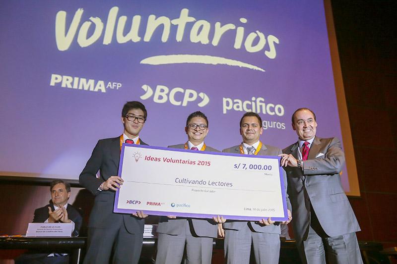 BCP, Prima y Pacífico premiaron a ganadores de Concurso Ideas
