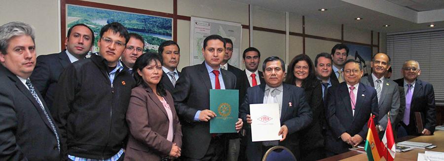 Comité Técnico Binacional de Hidrocarburos de Perú y Bolivia evaluaron intercambio comercial