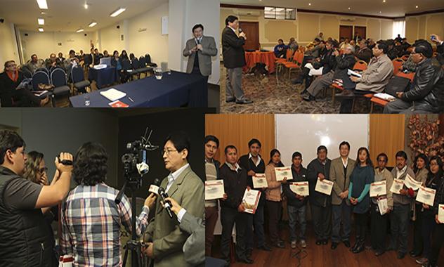 MEM dictó talleres informativos sobre el Estudio de Impacto Ambiental a periodistas en diez ciudades del país