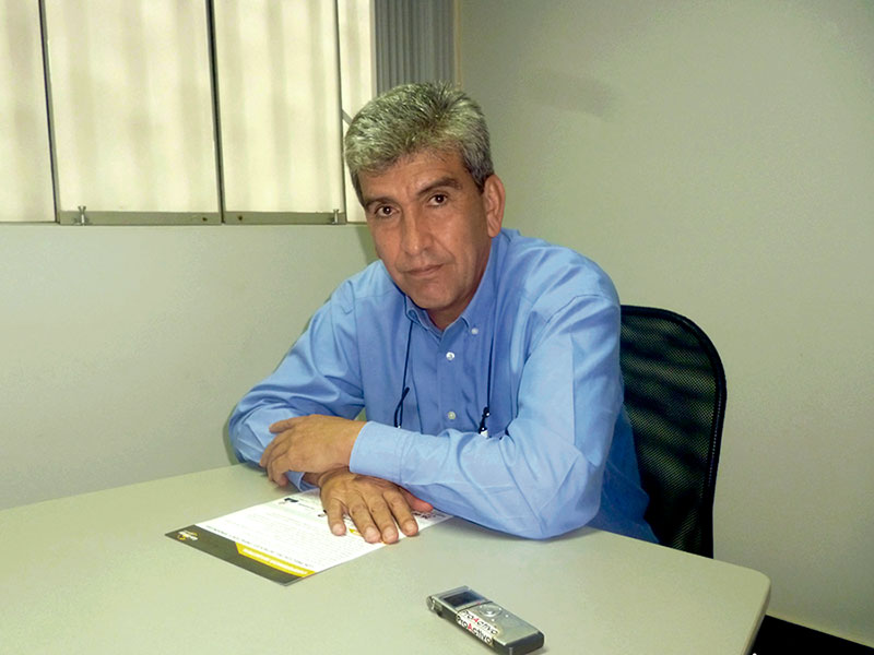 Álvaro Ríos, director de Gas Energy Latin America.