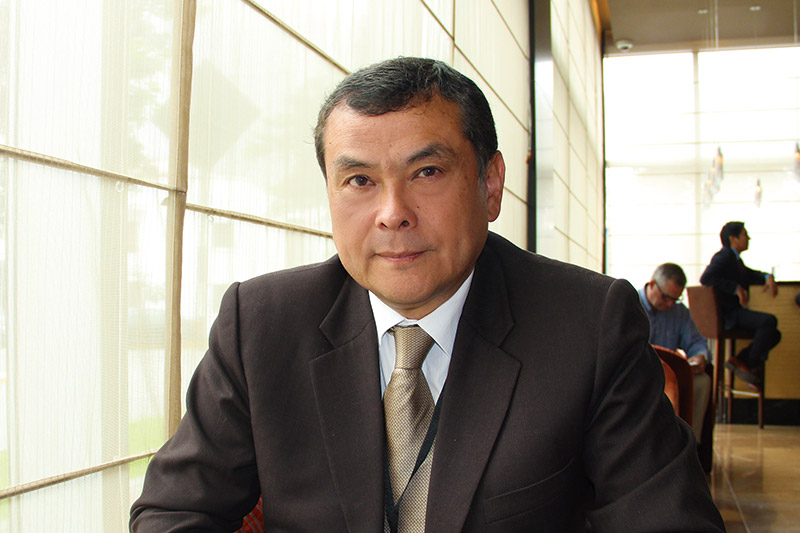 Presidente de Agrobanco, Enrique Díaz Ortega.