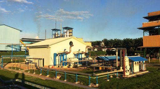 Planta generadora de biogas de Grupo Palmas en San Martín. (Foto: Grupo Palma)