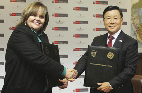 MEM y la República de Corea suscriben proyecto de gestión para la remediación de pasivos ambientales mineros en el Perú